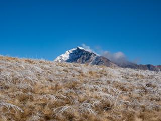 Winter landscape in the Italian alps