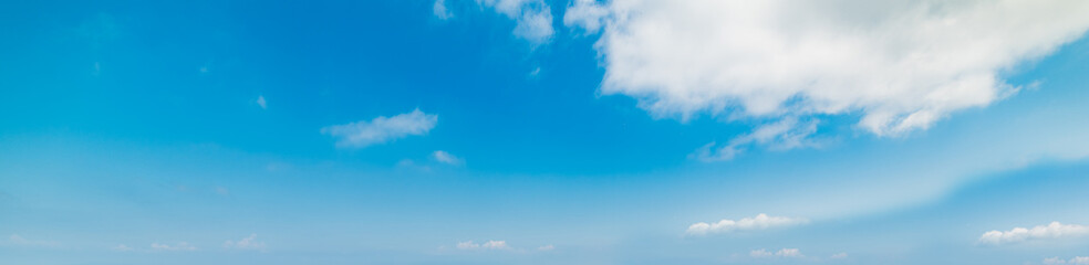 clouds and blue sky in Italy
