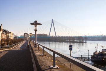 neuwied historic city near the rhine river in Rhineland Palatinate germany