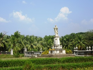 Kathedrale von St. Cajetan in Velha Goa / Goa in Südindien