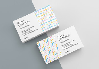 Abstract Business Card Layout