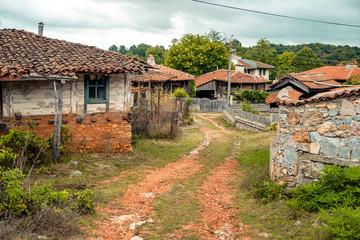 Brashlyan popular for turist small village in Bulgaria near the border with Turkey