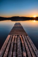 summer lake in Bulgaria