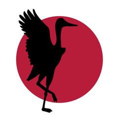 crane Japanese logo
