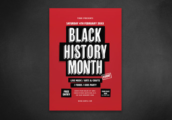 Black History Month Layout