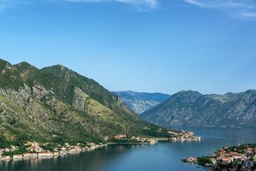 Bay of Kotor Landscape View