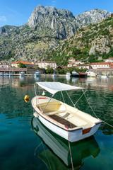 Boats in Kotor, Montenegro