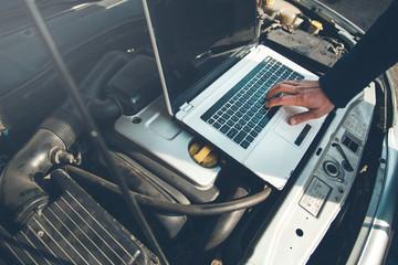 Computer diagnostics of the car