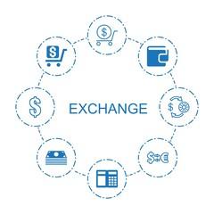 8 exchange icons