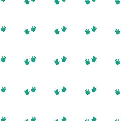 baby hands icon pattern seamless white background