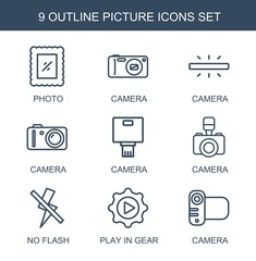 9 picture icons