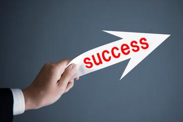 SUCCESSとビジネスマン