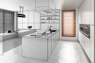 Contemporary Kitchen (development)