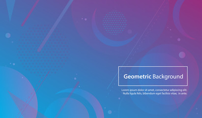 Colorful Geometric and Abstract Background for Modern and Minimal Design Concepts.