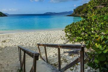 Trunk Bay, Virgin Islands National Park, Island of St. John, United States