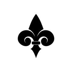 Fototapeta Fleur de lis icon, Fleur-de-lis sign, Fleur de lis logo obraz