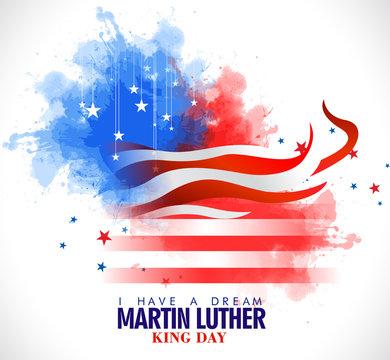 Martin Luther King Day  design EPS10 vector stock illustration - Vector