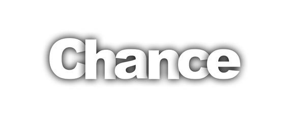 chance label