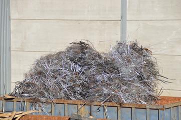 Metal at a scrap yard