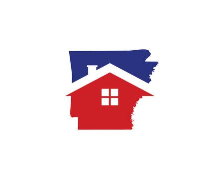 Arkansas Real Estate Logo Icon 001