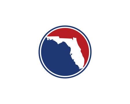Florida Circle Logo Icon 001