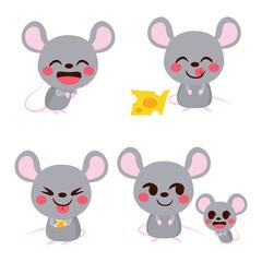 Cute Mouse Set