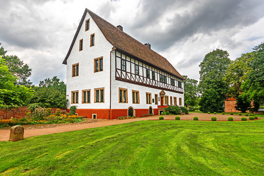 City Hall of Bodenwerder, Germany which was the manor house that Baron Munchausen was born in 1720.