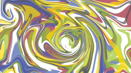 multi color abstrack background ,water flow turbulant.
