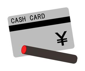 キャッシュカードと印鑑