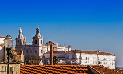 Kloster São Vicente de Fora in Lissabon