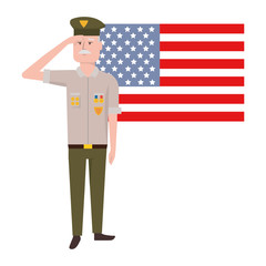 military force man design