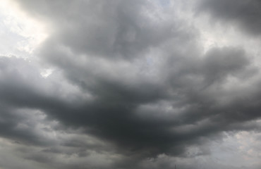 Background of storm sky clouds
