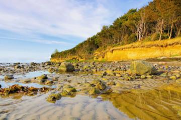 Poel Steilküste - the cliff coast on the island of Poel