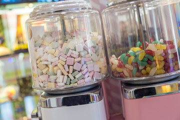 Candy dispenser machine