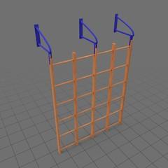 Runged wall bars
