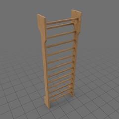 Gymnastic wall bars