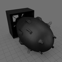 Fat man nuclear bomb