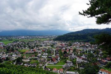 Berneck in der Schweiz