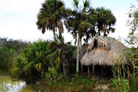 Seminoles Haus - Everglades - Florida