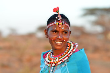 Fototapeta African Woman obraz