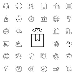 observation goods icon. logistics icons universal set for web and mobile