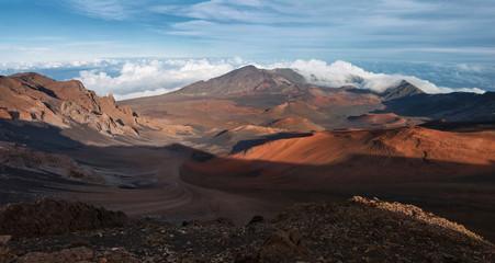 Haleakala Crater in Maui (Panorama)