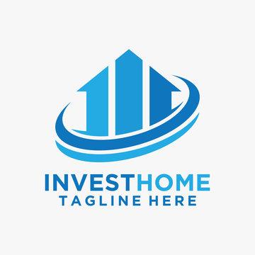 Home investment logo design