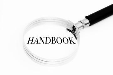 Handbook in the focus