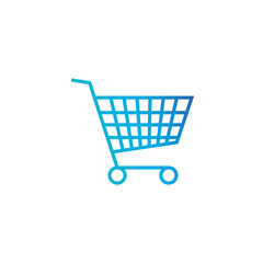 Shopping cart , purschase symbol. Add to cart button. Simple, flat design for web or mobile app. vector illustration isolated on white background.