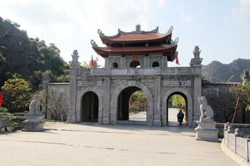 An ancient capital Hoa Lu, Vietnam Fototapete