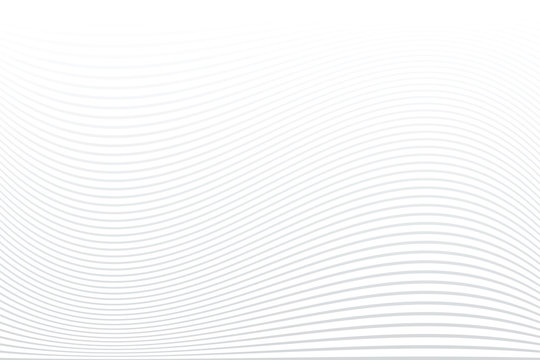White striped background. Abstract wavy lines texture.