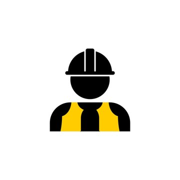 Contractor Icon, Workers icon or logo