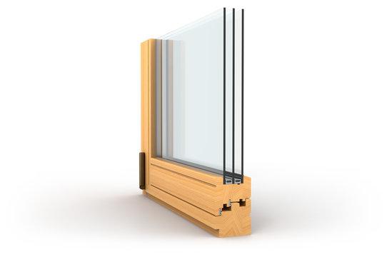 Fenster Querschnitt
