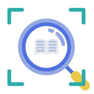 Micro learning flat illustration